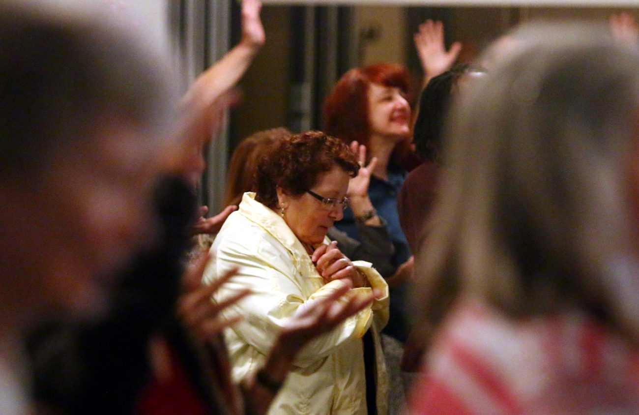 Worship, prayer and learning about the faith were the themes of the annual conference of the Catholic charismatic Renewal in the Philadelphia Archdiocese Oct. 13-15, 2017 in Essington, Delaware County. (Photo by Sarah Webb)