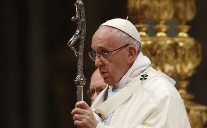 Pope sends message to Chile and Peru