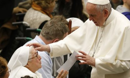 International Women's Day - women thank Pope Francis!