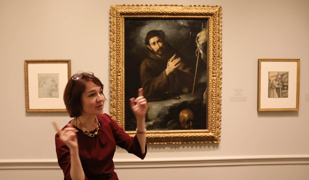 Exhibition Booth Assistant : National gallery exhibit explores st francis reception