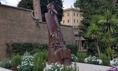 Gregory of Narek statue unveiled in the Vatican