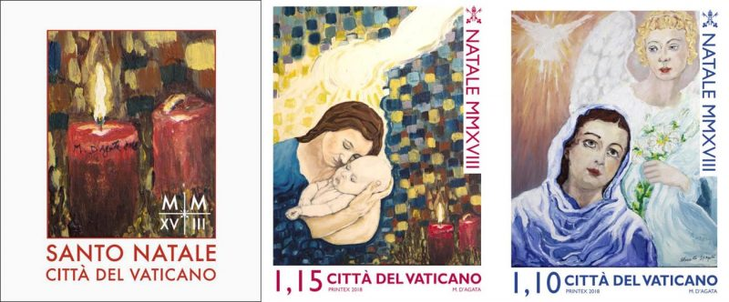 Prisoner Christmas.Special Delivery Vatican Christmas Stamps Feature Inmate S