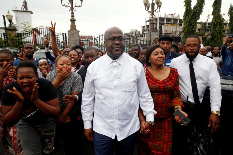 France calls for clarity on DR Congo vote as Tshisekedi declared victor