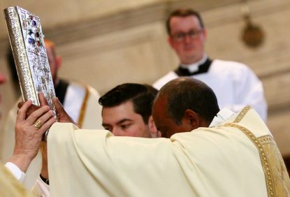 Five men ordained transitional deacons at seminary