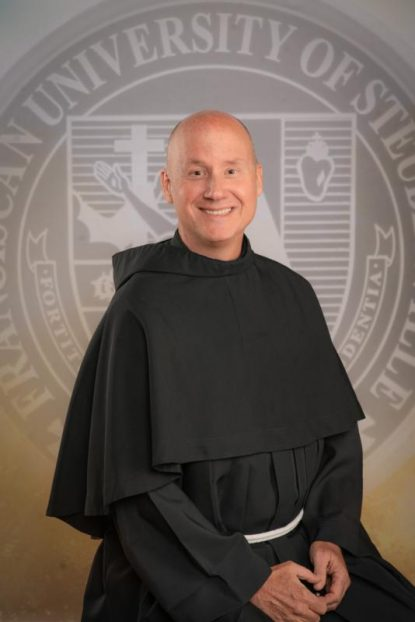 Franciscan Father David Pivonka was elected May 21, 2019, as the seventh president of the Franciscan University of Steubenville in Ohio. He succeeds Franciscan Father Sean O. Sheridan, who had served as president since 2013 until his resignation in April. Father Pivonka is pictured in an undated photo. (CNS photo/Franciscan University of Steubenville)