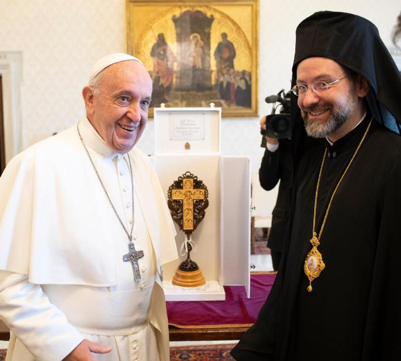 Ecumenical goal is unity, not leveling differences, pope