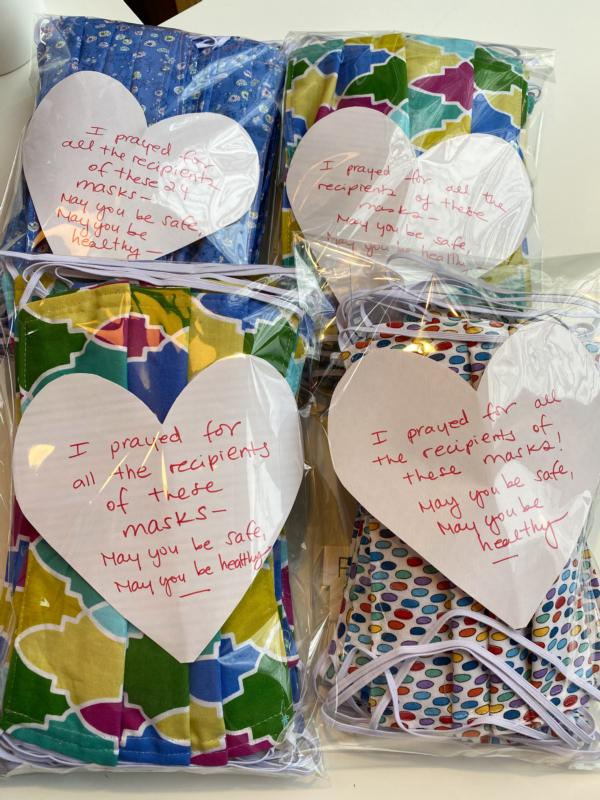 School nurses, crafters donate masks to clinicians in need ...